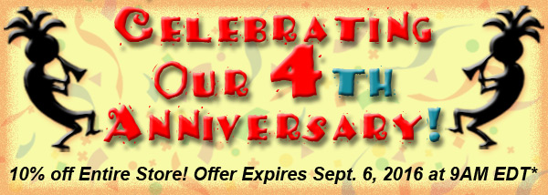 10% off Anniversary sale